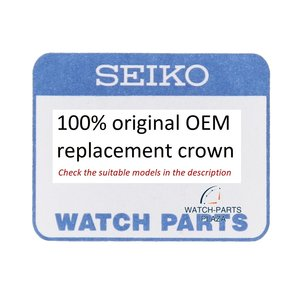 Seiko Seiko 8K70APSNW1 couronne 3 pour 5M62 0CH0, 5M82 0AH0, 0BE0, 7T62 0KP0