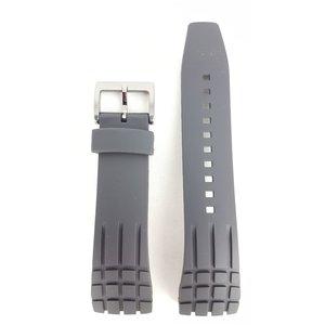 Seiko Seiko SNAD85 Armband SNDD73 Schwarzer Gummi 24mm
