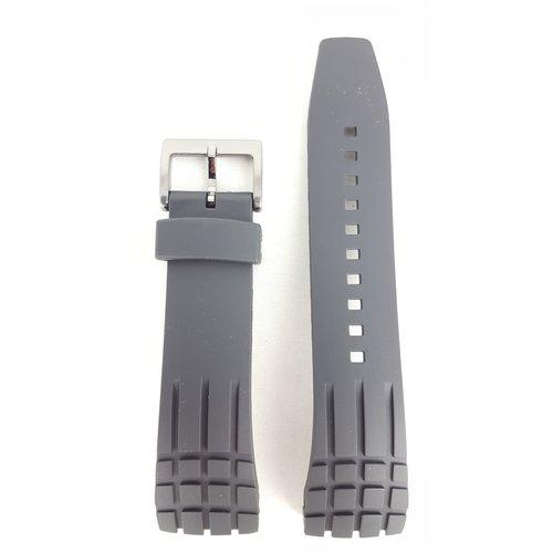 Seiko Seiko SNAD85 Horlogeband SNDD73 Zwart Rubber 24mm