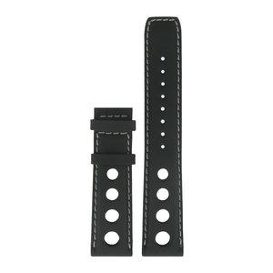 Tissot Tissot T9114A - PRS516 Watch Band Black Leather 20 mm