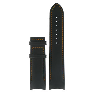 Tissot Tissot T035407A Horlogeband Zwart Leer 22 mm