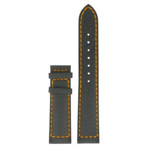 Tissot Tissot T961478 - Navigator 3000 Uhrenarmband Grau Leder 20 mm
