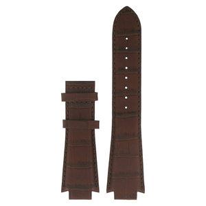 Tissot Tissot T601513 & T601517 Pulseira De Relógio Castanho Couro 14 mm