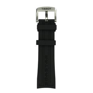Tissot Tissot T066417A - T-Sport Horlogeband Zwart Siliconen 23 mm