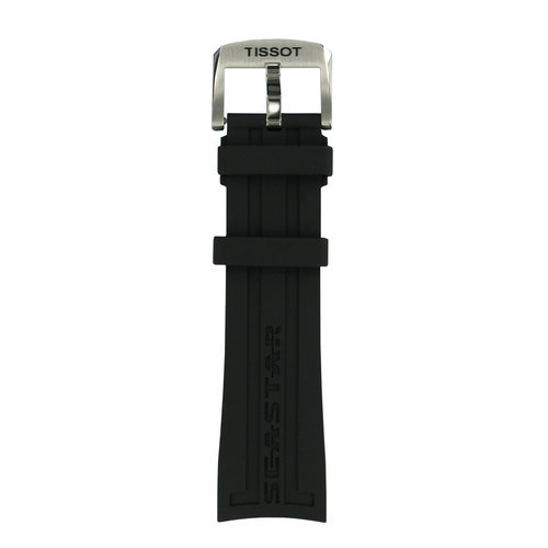 Tissot Tissot T066417A - T-Sport Watch Band Black Silicone 23 mm