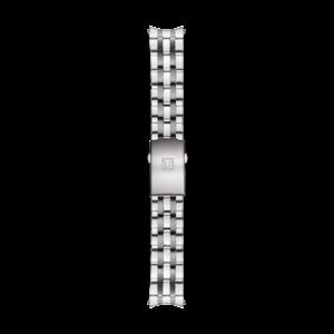 Tissot Tissot T014417A, T014430A, T014421A Pulseira De Relógio Cinza Aço Inoxidável 19 mm
