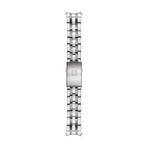 Tissot Tissot T014417A, T014430A, T014421A Watch Band Grey Stainless Steel 19 mm
