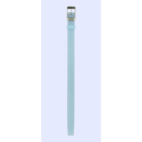 Tissot Tissot L830 - T581175 Uhrenarmband Blau Silikon 12 mm