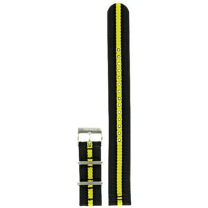 Tissot Tissot T055417A Horlogeband Zwart Textiel 19 mm
