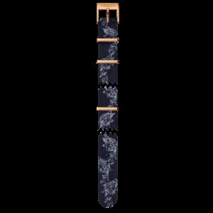 Tissot Tissot T109210A - T-Classic Horlogeband Blauw Textiel 15 mm