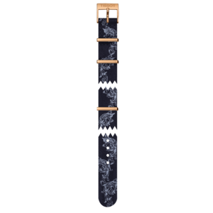 Tissot Tissot T109210A - T-Classic Uhrenarmband Blau Textil 15 mm