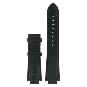 Tissot Tissot T601521 XS Horlogeband Zwart Leer 13 mm