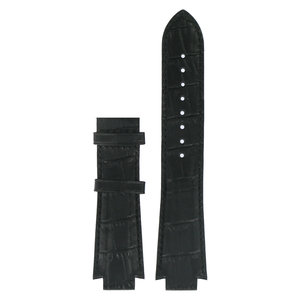 Tissot Tissot T601521 XS Uhrenarmband Schwarz Leder 13 mm