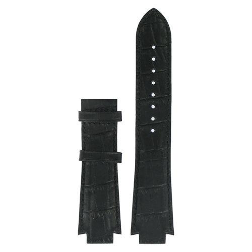 Tissot Tissot T601521 XS Pulseira De Relógio Preto Couro 13 mm