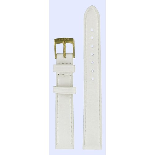 Tissot Tissot G617.330 Pulseira De Relógio Branco Couro 14 mm
