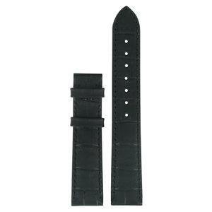 Tissot Tissot T661627A Heritage Horlogeband Zwart Leer 18 mm