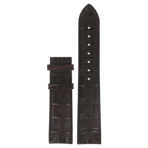 Tissot Tissot T415317 & T411317 Watch Band Brown Leather 20 mm
