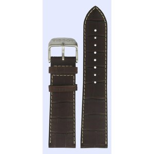 Tissot Tissot T361316 T-Sport Cinturino Dell'Orologio Marrone Pelle 22 mm