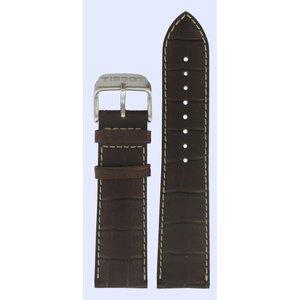 Tissot Tissot T361316 T-Sport Watch Band Brown Leather 22 mm