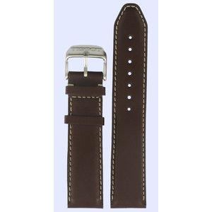 Tissot Tissot T131416A Cinturino Dell'Orologio Marrone Pelle 21 mm