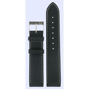 Tissot Tissot J172/272K - PR50 Pulseira De Relógio Preto Couro 19 mm