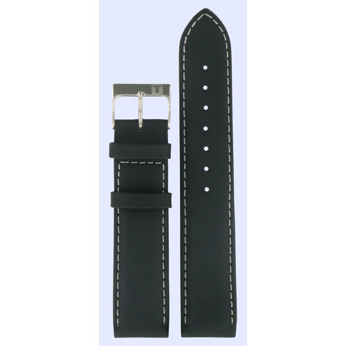 Tissot Tissot J172/272K - PR50 Watch Band Black Leather 19 mm