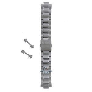 Seiko Seiko SKA783 & SKA785 Uhrenarmband Grau Edelstahl 22 mm
