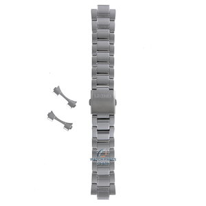 Seiko Seiko SKA783 & SKA785 Watch Band Grey Stainless Steel 22 mm