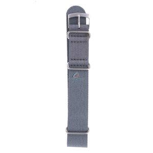 Seiko Seiko 7A28 7120 Uhrenarmband Grau Textil 20 mm