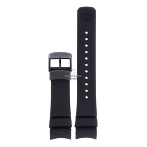 Seiko Seiko SNR031, SBDB037 Spring Drive Horlogeband Zwart Siliconen 23 mm