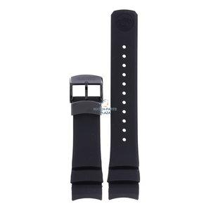Seiko Seiko SNR031, SBDB037 Spring Drive Uhrenarmband Schwarz Silikon 23 mm