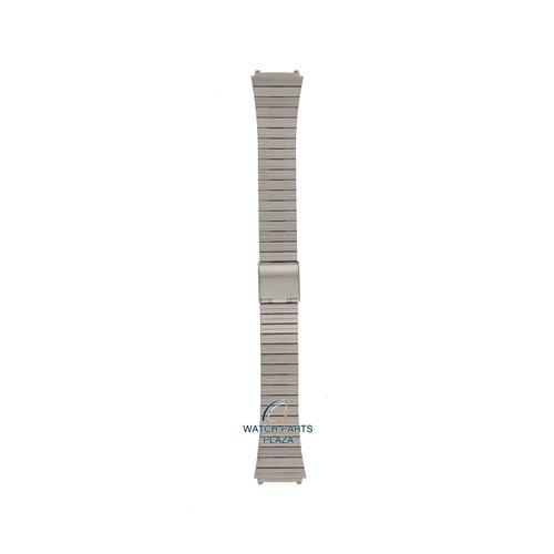 Pulsar Pulsar V532 5B00 & 5B20 Watch Band Grey Stainless Steel 18 mm