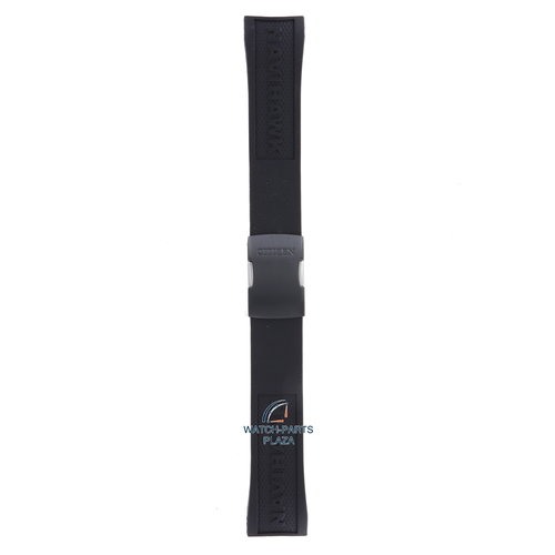 Citizen Citizen JY8035-04E Navihawk Horlogeband Zwart Siliconen 23 mm