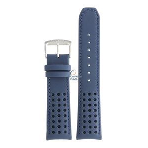 Citizen Citizen AT8020-03L - S081165 Horlogeband Blauw Leer 23 mm