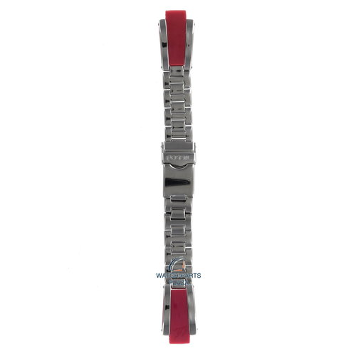 Fossil Fossil JR7972 Watch Band Grey Stainless Steel 10 mm