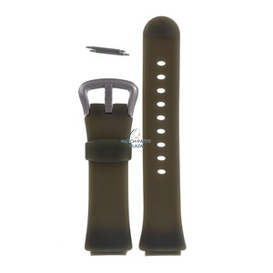 Fossil Fossil JR7985 Watch Band Green Silicone 18 mm