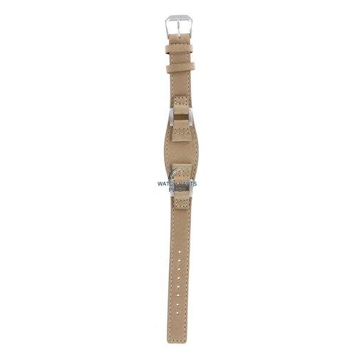 Fossil Fossil JR8008 Horlogeband Beige Leer 14 mm