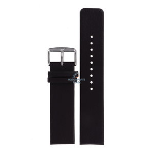 Fossil Fossil JR8013 Watch Band Dark Brown Leather 22 mm