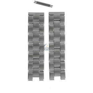 Fossil Fossil JR8108  1954 Watch Band Grey Stainless Steel 18 mm