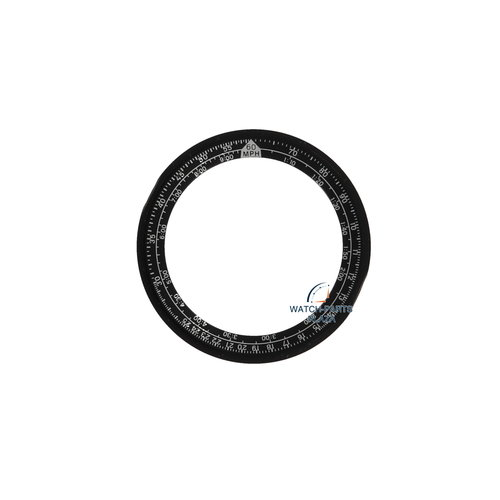 Seiko SEIKO 8602039C zwarte insert 6M23-7000 Intelligent Calendar SHQ001, SHQ002