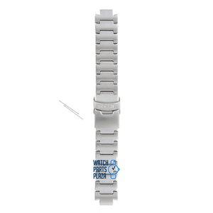 Fossil Fossil JR8001 Horlogeband Grijs Roestvrijstaal 12 mm