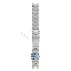 Fossil Fossil JR8038 Uhrenarmband Grau Edelstahl 18 mm