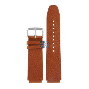 Fossil Fossil JR8144 Bracelet De Montre Brun Cuir 20 mm