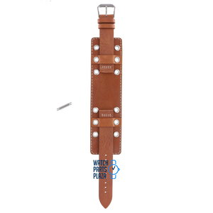 Fossil Fossil JR8149 Watch Band Brown Leather 18 mm