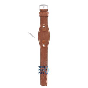 Fossil Fossil JR8157 Watch Band Brown Leather 09 mm