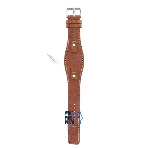 Fossil Fossil JR8157 Horlogeband Bruin Leer 09 mm