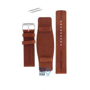 Fossil Fossil JR8213 Horlogeband Bruin Leer 22 mm