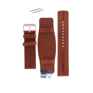 Fossil Fossil JR8213 Watch Band Brown Leather 22 mm
