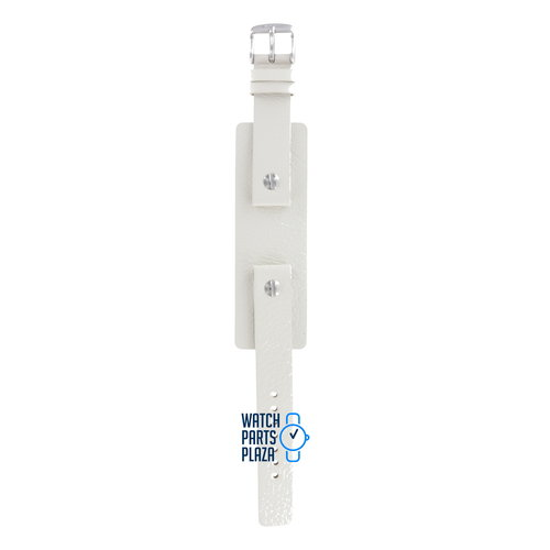 Fossil Fossil JR8224 Watch Band White Leather 16 mm