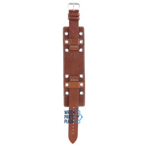 Fossil Fossil JR8246 Watch Band Brown Leather 18 mm
